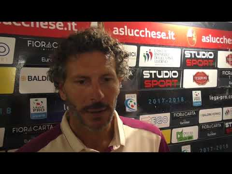 Lucchese-Arezzo 4-2 dcr, intervista a mr Dal Canto