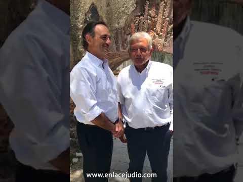 Dialogan AMLO y Líder de la Comunidad Judía