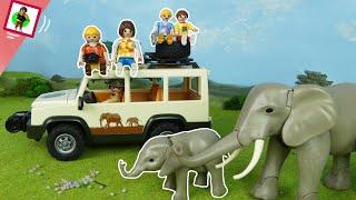 """Playmobil Film """"Gefahr in Afrika"""" Familie Jansen Spielzeug Video für Kinder"""