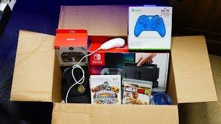 Gamestop Employees Left Me This JACKPOT BOX!! Gamestop Dumpster Dive Night #801