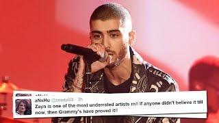 Zayn Fans OUTRAGED Over 2017 Grammy Snub - Why He Didn't Qualify
