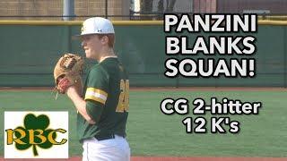 Red Bank Catholic 1 Manasquan 0 | Shane Panzini CG 2 hitter 12 Ks