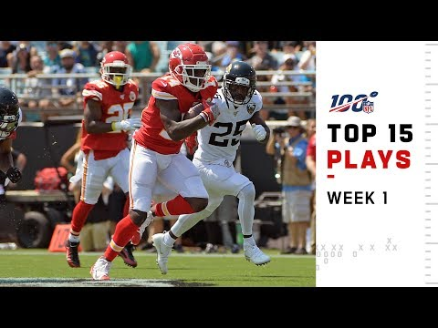 Top 15 Plays from Week 1   NFL 2019 Highlights