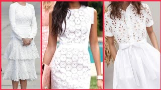 Womens Lace Hollow Out Long Dresses Short&Long Sleeve Hollow Out Lace Summer Wedding Dresses