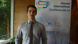 Jürgen Loipersböck at CCECP Conference 2018 by GSTF Singapore