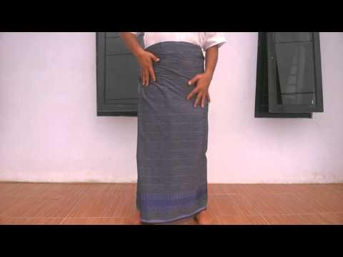 Video Tutorial sarung celana