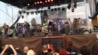 DARK FUNERAL - Stigmata (Live@MHM Festival - Bucharest 12.6.15 )