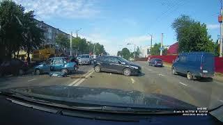Массовая авария в Смоленске