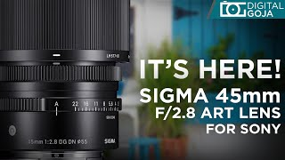 [FIRST LOOK] Sigma 45mm f/2.8 DG DN Contemporary Lens for Sony E