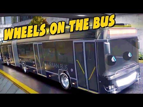 The Wheels On The Bus | Speedies Cartoons For Children