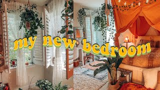 EXTREME BEDROOM MAKEOVER + TOUR - Aesthetic, Boho, Pinterest Inspired