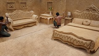 Building 30k Dollars Underground King Room With The Most Modern Bedroom  Furniture And Amenities