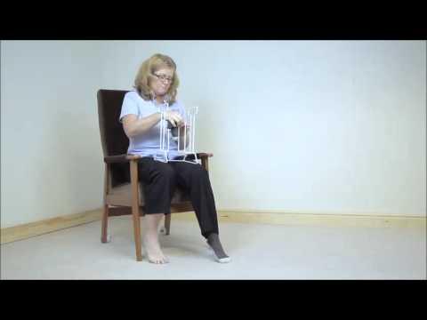 Applicazione di un eskuzan allatto di trattamento di thrombophlebitis