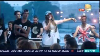 تحميل اغاني مسلسل أرض النعام - شاهد رد فعل الشباب على رقص وغناء زينة على الأغانى الشعبية MP3