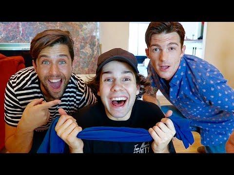 SURPRISED BY DRAKE AND JOSH!! (видео)