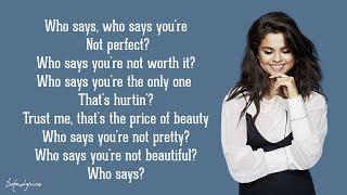 Selena Gomez & The Scene - Who Says (Lyrics) 🎵
