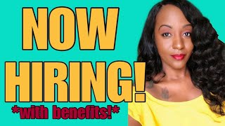 Now Hiring! $24 Hourly With Benefits!