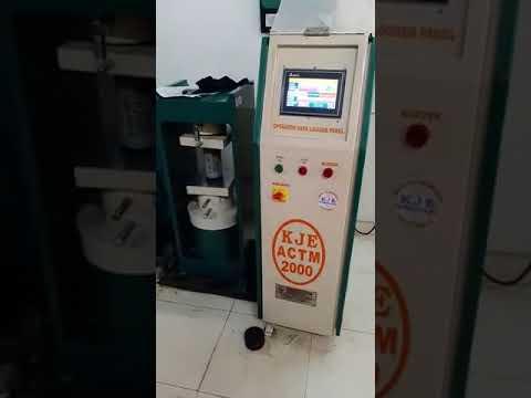Automatic Compression Rock Testing Machine