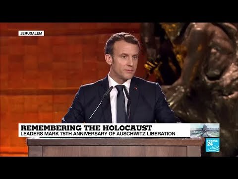 Remembering the Holocaust: French president Emmanuel Macron
