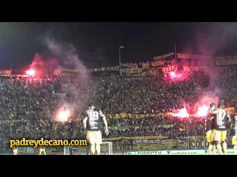 """""""[HD] Hinchada de Peñarol festeja el gol de Zalayeta   Peñarol 3 Progreso 1   Apertura 2012"""" Barra: Barra Amsterdam • Club: Peñarol"""