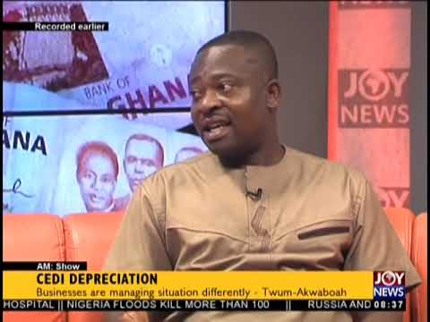 Cedi Depreciation   AM Show on JoyNews 18 9 18