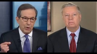 Chris Wallace rips into Lindsey Graham over witnesses at Senate trial
