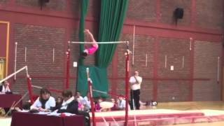 Elisha Lynes- Bars Routine in The Welsh Finals