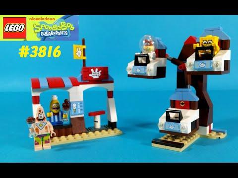 Vidéo LEGO Bob l'éponge 3816 : Le Monde des gants
