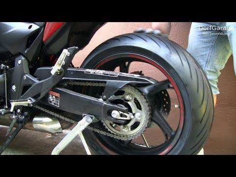 Honda CBR 600F PC41 - Hinterrad Aus- & Einbau