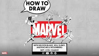 National Comic Book Day Celebration! | How to Draw Live!