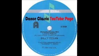 Billy Ocean   Loverboy (Extended Promo Mix)