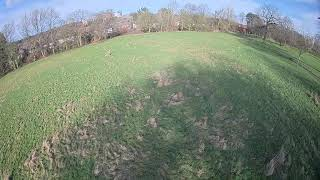 V4 Gimbal with a Hubsan H501s Test Flight