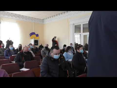 Третє пленарне засідання першої  сесії Гуляйпільської  міської ради восьмого скликання (відео)