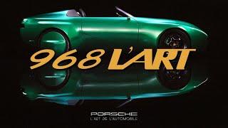 L'Art de L'automobile presents the Porsche 968 L'ART car