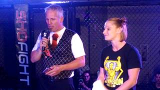 Katy 'Red Dragon' Collins Talks Bellator & LFA 21 - W/ShoFIGHT Cage Announcer Dallen Gettling