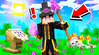 BECOMING the STRONGEST WIZARD in CAMP MINECRAFT! (Season 3)