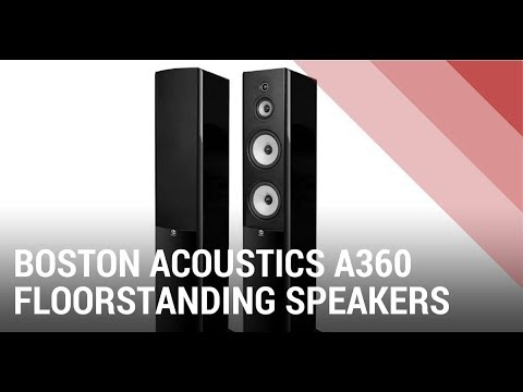Boston Acoustics A360 Floorstanding Speakers – Quick Review India
