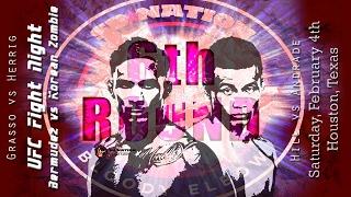 UFC Houston Korean Zombie vs Bermudez 6th Round post-fight show
