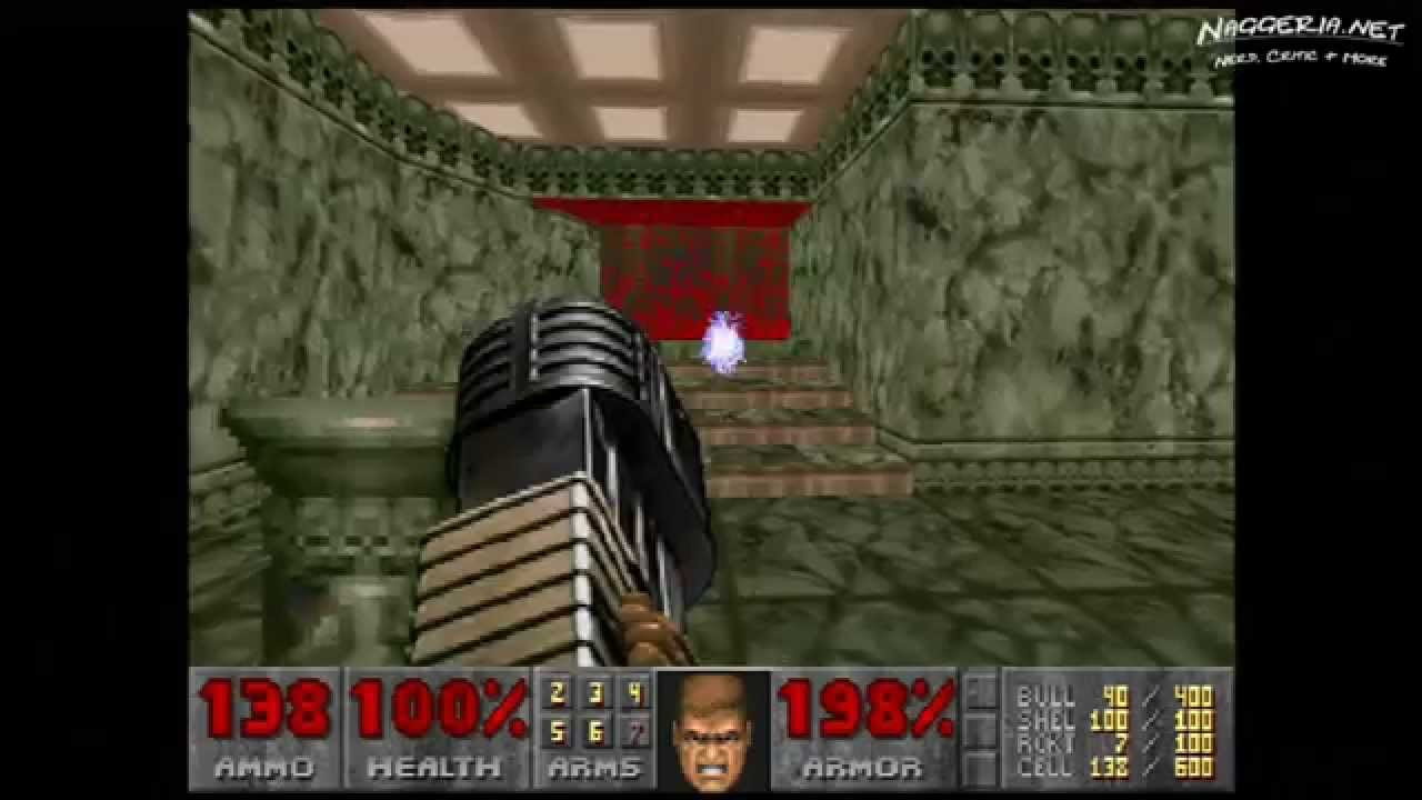 "Doom (E2M5 ""Command Center"") Walkthrough – Ultra-Violence"
