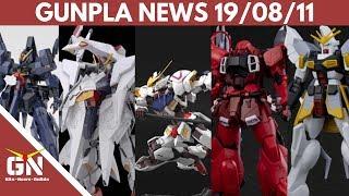 Gunpla News: Barbatos, Sandrock Zaku Warrior, Penelope, Unicorn, SD Akatsuki, Dwadge