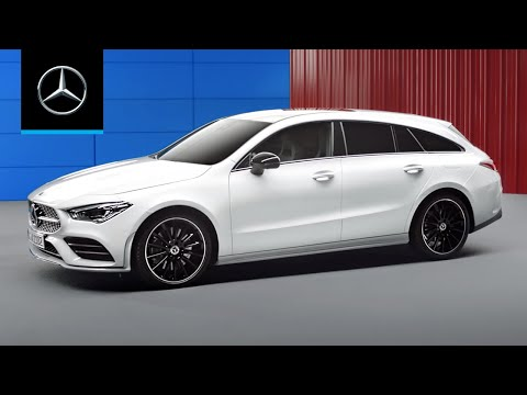 Mercedes Benz Cla Class Shooting Brake Универсал класса C - рекламное видео 4