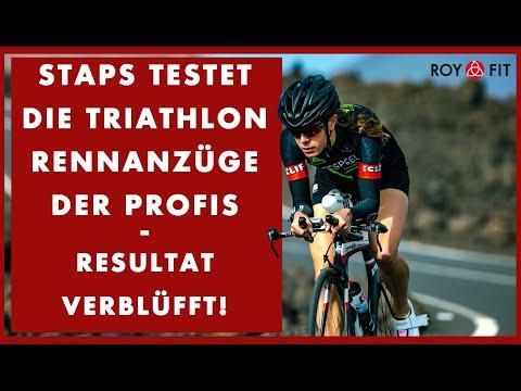 STAPS testet die Triathlon Rennanzüge der Profis, Resultat verblüfft!