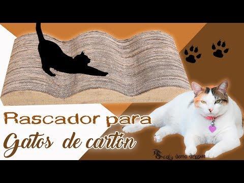 Rascador para Gatos de cartón / Reciclaje creativo