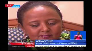 Kenya campaigns for Amina Mohamed as election date for AU commissioners chairs draws nearer