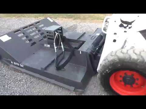 """Nice CID Xtreme 72"""" High Flow 30 To 48 GPM Brush Cutter For Skid Steer Loader For Sale"""