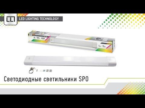 Светодиодные светильники SPO (LLT)