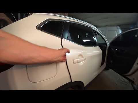 Nissan Qashqai Как Снять разобрать обшивку крыши