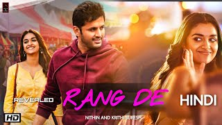 Rang De Movie Nithin Krithi Suresh Trailer, South Indian Movie Hindi Update #nithin #krithisuresh.