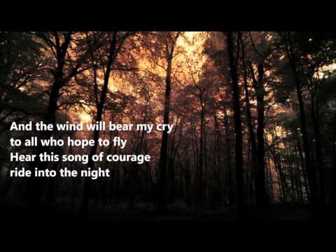 Manowar - Courage (lyrics on screen)