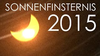 preview picture of video 'Sonnenfinsternis 2015 Viernheim - 4K Timelapse'